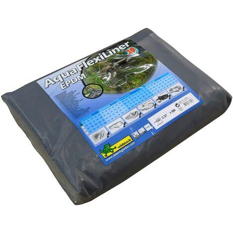 Ubbink Pond Liner AquaFlexiLiner EPDM 3.37x5 m 1336124 - Black