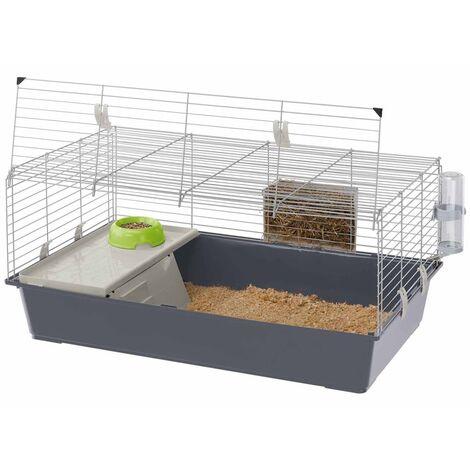 Ferplast Rabbit Cage Rabbit 100 95x57x46 cm - Grey