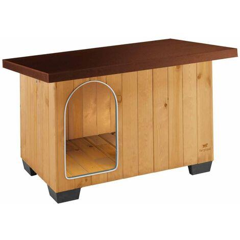Ferplast Doghouse Baita 80 Brown 102x70x65.5 cm - Brown