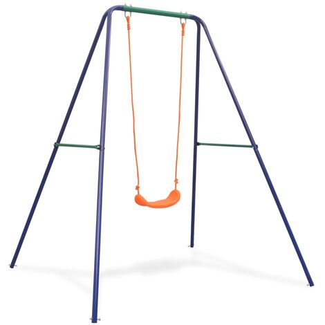 vidaXL Single Swing Orange - Orange