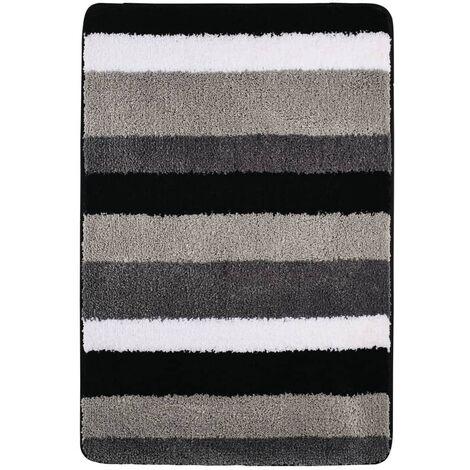 RIDDER Bathroom Rug Carl 60x90 cm Grey 7102307 - Grey