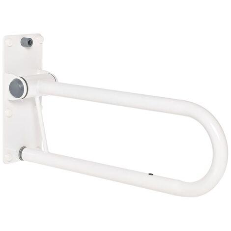 RIDDER Folding Grab Rail 55.5 cm 100 kg A0130101 - White