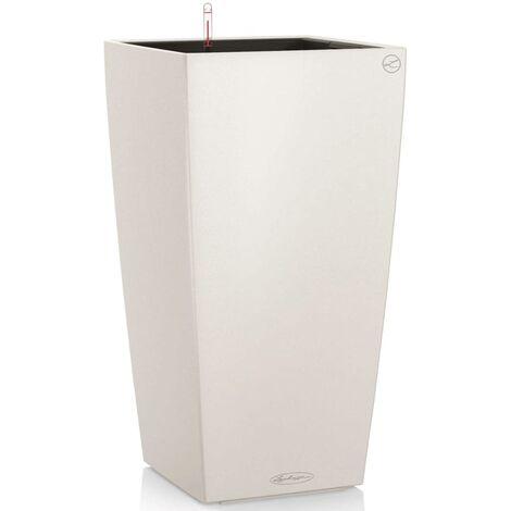 LECHUZA Planter Cubico Color 40 ALL-IN-ONE White 13150 - White