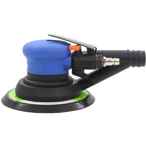 vidaXL 4 Piece Self-Vacuuming Air Orbital Sander 150 mm