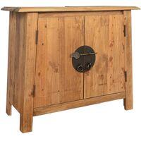 vidaXL Bathroom Vanity Cabinet Solid Recycled Pinewood 70x32x63 cm - Brown