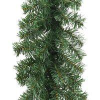 vidaXL Christmas Garland PVC 5 m - Green