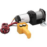 vidaXL 12 V Electric Winch 907 KG Wire Remote Control