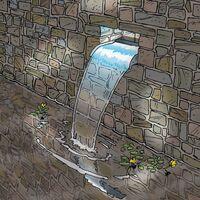Ubbink Nevada Waterfall Blade 30 cm Stainless Steel Cascade - Silver