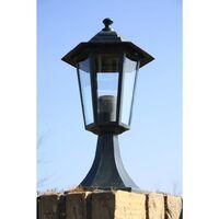 vidaXL Garden Light Dark Green/Black Aluminium - Green