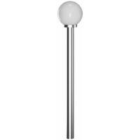 Garden Lamp Post 1 Lamp 110cm - White