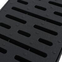 vidaXL Drainage Channels Plastic 4 m