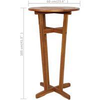 vidaXL Bar Table 60x105 cm Solid Acacia Wood - Brown