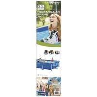 Intex Swimming Pool Rectangular Frame 300x200x75 cm 28272NP - Blue