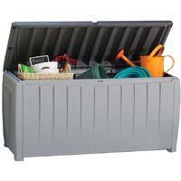 Keter Garden Storage Box Novel 340 L - Grey