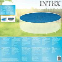 Intex Solar Pool Cover Round 549 cm 29025 - Blue