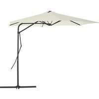 af04dad78c2 Outdoor Parasol with Steel Pole 300 cm Sand