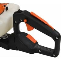 vidaXL Petrol Hedge Trimmer 722 mm Orange and Black - Orange
