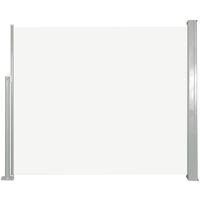 vidaXL Retractable Side Awning 120 x 300 cm Cream - Cream