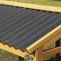 Kerbl Pro Rabbit Enclosure 115x85x90 cm Wood 81720 - Brown