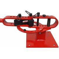 Manually Operated Bench-Mounted Steel Pipe Bending Machine