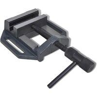 vidaXL Manually Operated Drill Press Vice 90 mm