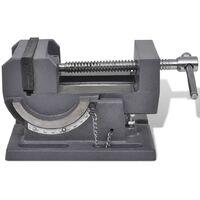 vidaXL Manually Operated Tilting Drill Press Vice 110 mm