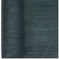 vidaXL Privacy Net HDPE 2x50 m Green - Green