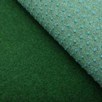 vidaXL Artificial Grass with Studs PP 2x1 m Green - Green