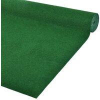 vidaXL Artificial Grass with Studs PP 3x1 m Green - Green