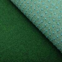 vidaXL Artificial Grass with Studs PP 2x1.33 m Green - Green