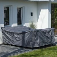 Madison Outdoor Furniture Cover 130x130x85cm Grey - Grey