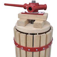 vidaXL 2 Piece Fruit & Wine Press and Crusher Set