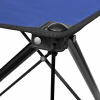 Foldable Camping Table Blue - Blue