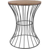 Home&Styling Side Table Metal Beige - Beige