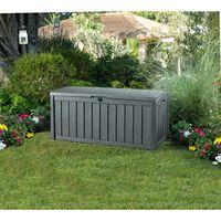 Keter Garden Storage Box Glenwood 390 L - Grey