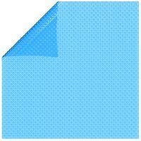 vidaXL Pool Cover Blue 417 cm PE - Blue
