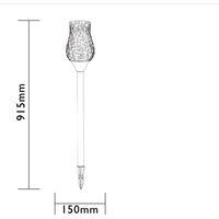 Luxform LED Garden Light Tulip - Grey