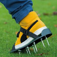 Nature Lawn Aerator Sandals Green - Green