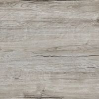 FMD Dining Table 70cm Sand Oak and White - Grey