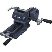 vidaXL Manually Operated Cross Slide Drill Press Vice 70 mm