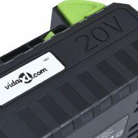 vidaXL Battery Pack 20V 4000 mAh Li-ion - Black