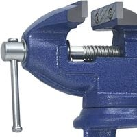 vidaXL Bench Vice Cast Iron 60 mm