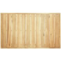 vidaXL Coffee Table 100x60x25 cm Solid Acacia Wood