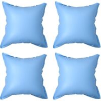vidaXL Inflatable Winter Air Pillows for Above-Ground Pool Cover 4 pcs PVC - Blue