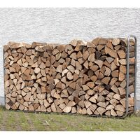 wolfcraft Firewood Storage System 5122000 - Silver