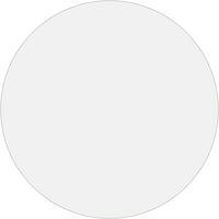 vidaXL Table Protector Transparent Ø 60 cm 2 mm PVC