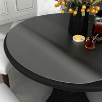 vidaXL Table Protector Matte Ø 120 cm 2 mm PVC - Transparent