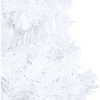 vidaXL Artificial Christmas Tree with Thick Branches White 240 cm PVC - White