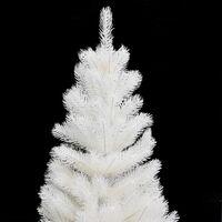 vidaXL Artificial Christmas Tree Lifelike Needles White 90 cm - White