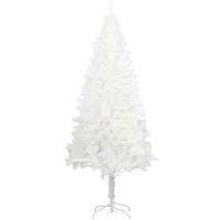 vidaXL Artificial Christmas Tree Lifelike Needles White 150 cm - White